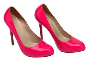 Alexander McQueen High Heels Hot Pink Pumps