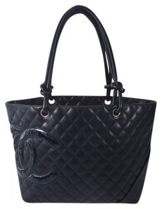 Chanel Cc Collectors Flap 2.55 Tote in Black