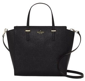 Kate Spade Tote Stylish Sexy Satchel in Black