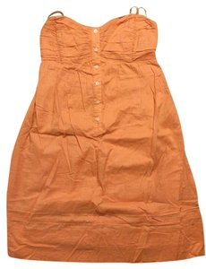 To the Max short dress peach on Tradesy