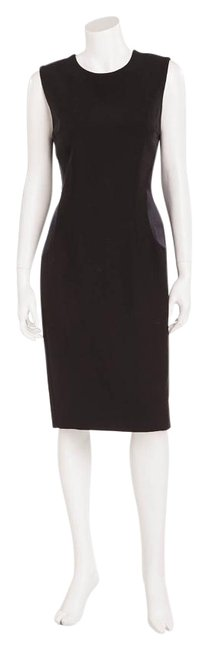 Preload https://img-static.tradesy.com/item/17647516/alexander-mcqueen-black-with-satin-inserts-short-workoffice-dress-size-6-s-0-1-650-650.jpg