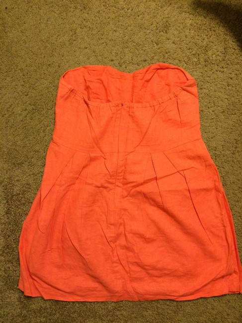 Forever 21 short dress coral on Tradesy