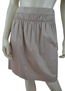 Banana Republic New Stretch Mini 12 Mini Skirt Khaki