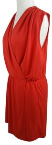 Rachel Roy Faux-wrap Style Easy Wear&care It Up Or Down Evening Work Travel Dress