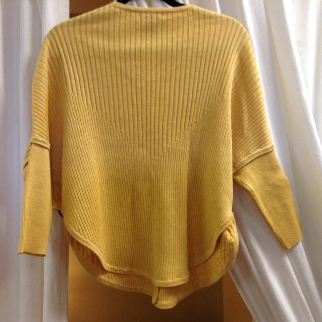 NIC+ZOE Doleman Sleeve Cable Knit Rib Knit Sweater Cardigan Image 3