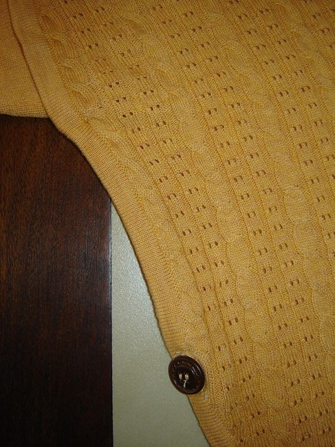 NIC+ZOE Doleman Sleeve Cable Knit Rib Knit Sweater Cardigan Image 6