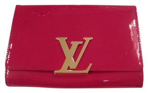 Louis Vuitton Louise MM Indian rose Clutch