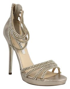 Nina Shoes Sirene Glitter Pigalle Red Bottoms Gold Pumps