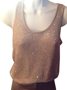 Matty M Top Gold sparkles