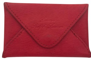Ralph Lauren Wristlet in Red