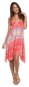 Elan short dress Pink Santa Fe on Tradesy