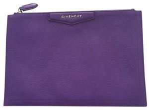 Givenchy Purple Clutch