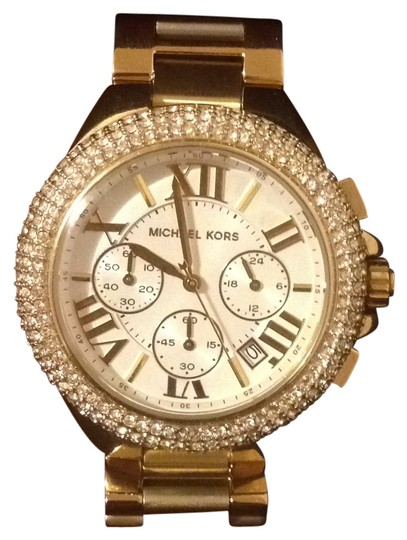 Preload https://item1.tradesy.com/images/michael-kors-gold-watch-176495-0-0.jpg?width=440&height=440