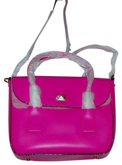 Preload https://item1.tradesy.com/images/kate-spade-new-york-bond-street-florence-pink-leather-satchel-1764980-0-0.jpg?width=440&height=440