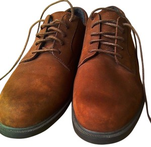 Rockport Classic Lace Up Suede New brown nubuck Flats