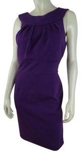 Banana Republic short dress Purple Sheath 6 Sleeveless on Tradesy