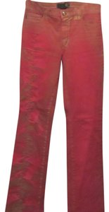 Just Cavalli Boot Cut Jeans-Coated