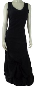Black Embossed Maxi Dress by Anokhi Collection Long Cotton Boho New