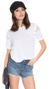 IRO For Love & Lemons Tory Burch The Row Helmut Lang Alexander Wang T Shirt White