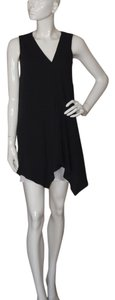 Gucci short dress Black Crape Sleeveless Midi Silk on Tradesy