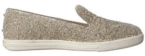 Alice + Olivia Silver Glass Beads Sneaker Flats