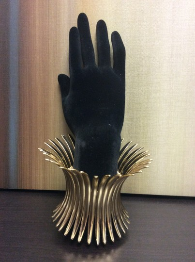 Other Gold Plated Spike Stretch Bracelet Image 3
