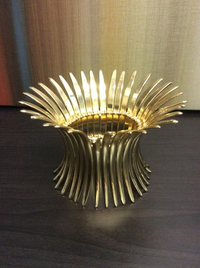 Other Gold Plated Spike Stretch Bracelet Image 4