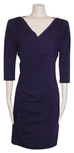 Diane von Furstenberg Bodycon Stretch 3/4sleeve Dress
