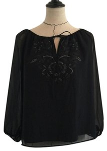 Peter Nygard Top black