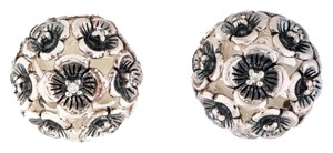 Stephen Dweck STEPHEN DWECK DIAMOND FLOWER EARRINGS
