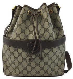 Gucci Vintage Bucket Drawstring Shoulder Bag