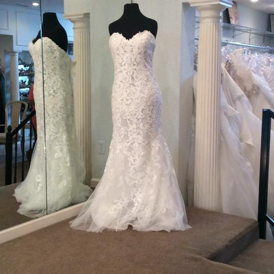 Maggie Sottero Lace Wedding Gown: Maggie Sottero Parisian Mist Lace And Tulle Feminine