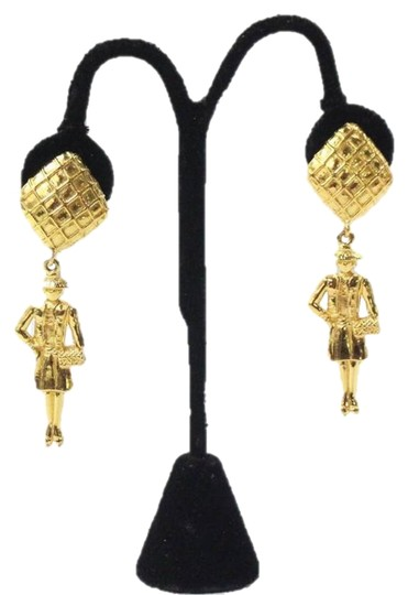 Preload https://img-static.tradesy.com/item/17652805/chanel-gold-coco-dangle-vintage-1970-s-earrings-0-1-540-540.jpg