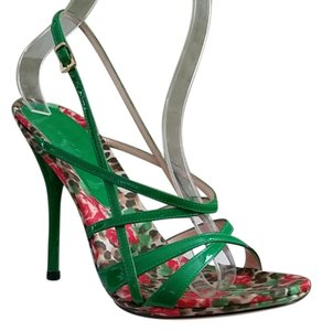 Casadei Green Pumps