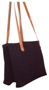 Herms 2 Compartment Tote Shoulder Bag