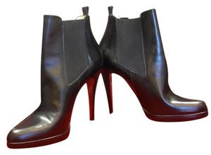 Christian Louboutin Bootie Ankle Black Boots