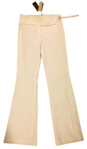 BCBG Dress Tuxedo Boot Cut Pants White