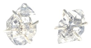 Mei Herkimer Diamond Sterling Silver Stud Earrings