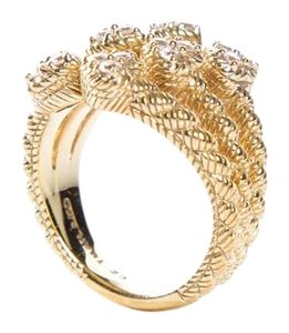 Judith Ripka Gold Plated Triple Twist CZ Hearts