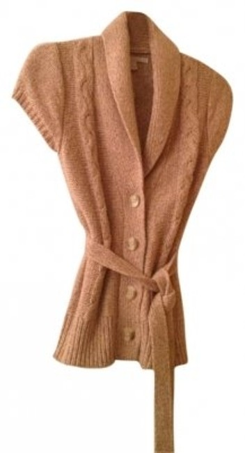 Preload https://item5.tradesy.com/images/old-navy-tan-button-front-knit-with-tie-belt-vest-size-6-s-176544-0-0.jpg?width=400&height=650