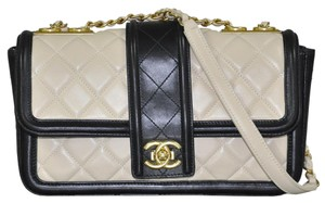 Chanel Flap Handbag Leather Shoulder Bag