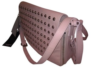 Olivia Harris Studded Leather Cross Body Bag