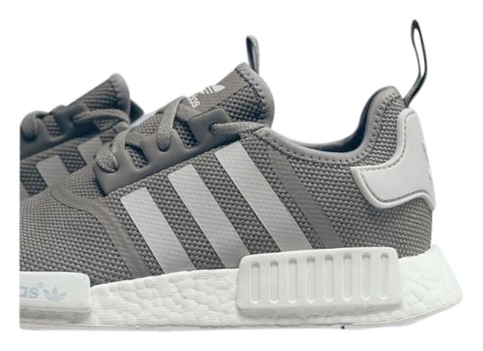 cheapest price many fashionable the sale of shoes adidas Nmd R1 Solid Grey Junior 7 S80204 Sneakers Size US 9 - Tradesy