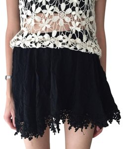 LF Lace Fringe Free People Lace Fringe Skirt