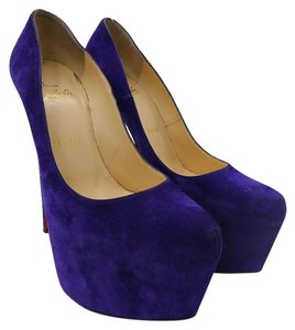 Christian Louboutin Violet Pumps