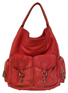 Marc by Marc Jacobs Leather Handbag Pockets Shoulder Bag