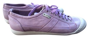 O.X.S. Leather Lavender Sneaker Converse Tennis Lilac Athletic