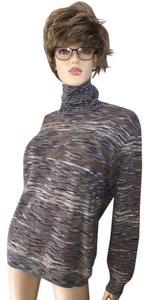 M Missoni Knit Turtleneck Sweater