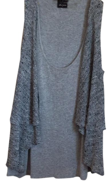 Item - Grey and Charcole Sweater Vest Tank Top/Cami Size 8 (M)