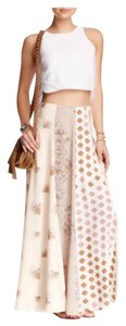 Free People Maxi Skirt Tea (Ivory) Combo